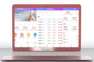 亲测 有演示丨Wap版双融二开白色UI金融系统源码完美版下载