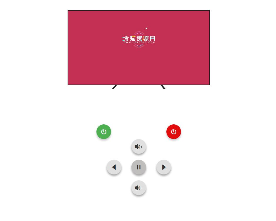 免费下载丨HTML5超薄全面屏小小电视源码下载