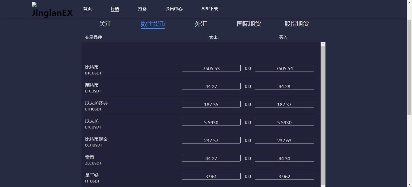 亲测 免费丨金融理财交易所系统PC+wap源码免费下载