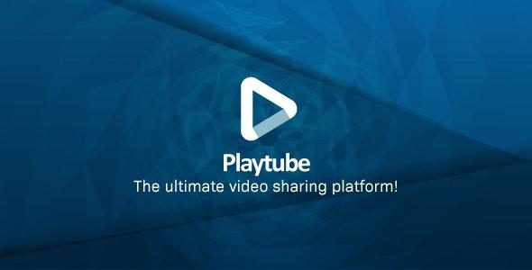 免费丨PlayTube v2.0.3 – PHP视频上传分享源码汉化版