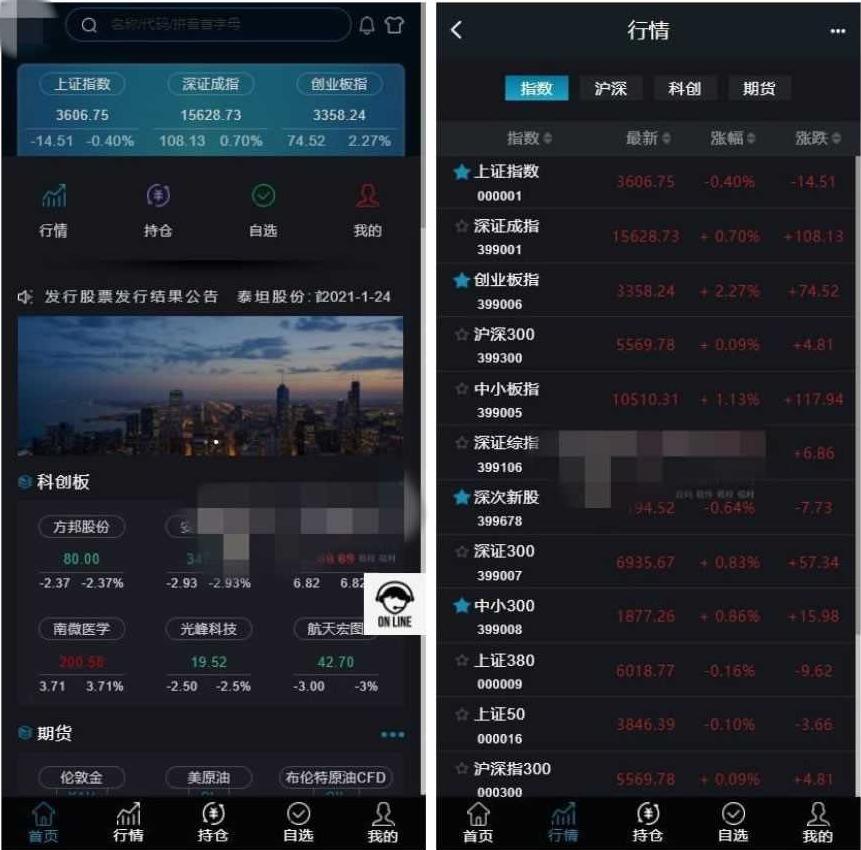 3.0新股申购新增新股申购功能+独立新股管理后台+实时分时线和K线